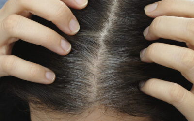 Brushing Up: Gray Hair and Stress